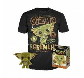 Gremlins - figurine POP! & T-Shirt Gizmo