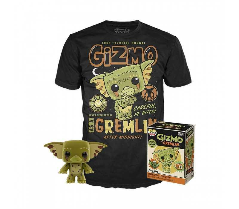 Gremlins - POP! figure & T-Shirt Gizmo
