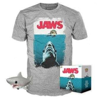 Jaws - POP! figure & T-Shirt Night Swim