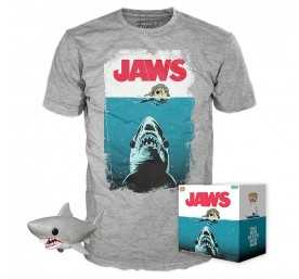 Les Dents de la mer - figurine POP! & T-Shirt Night Swim