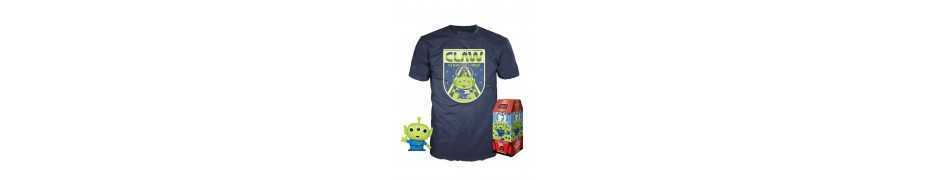 Toy Story - figurine POP! & T-Shirt The Claw