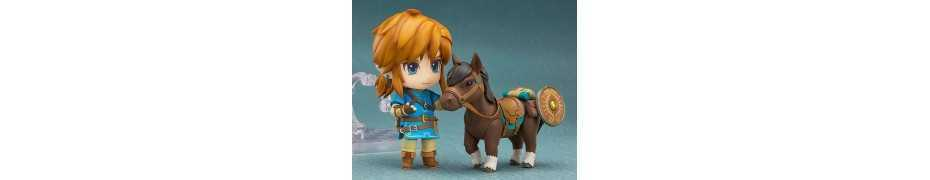 Figurine The Legend of Zelda Breath of the Wild - Nendoroid Link Deluxe Edition 2