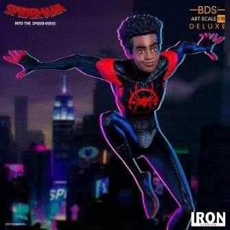 Figurine Marvel Spiderverse - BDS Art Scale Miles Morales 11