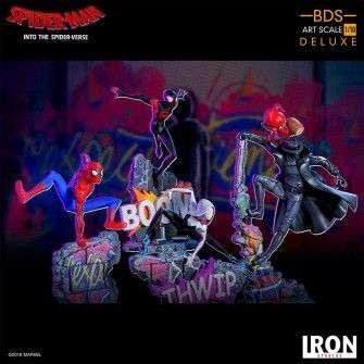 Figura Marvel Spiderverse - BDS Art Scale Deluxe Spider-Man Noir 10