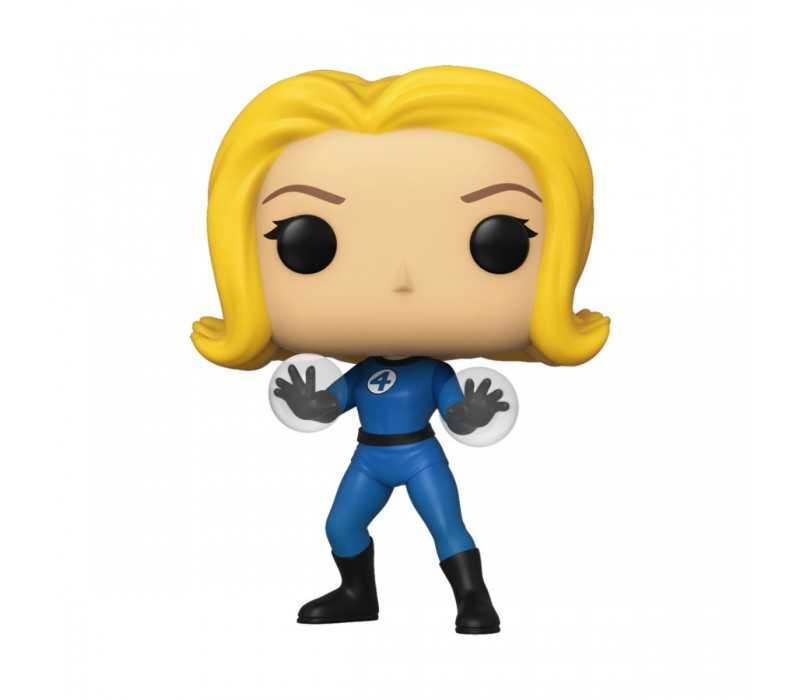Figurine Marvel Fantastic Four - Femme invisible/Invisible Girl POP!