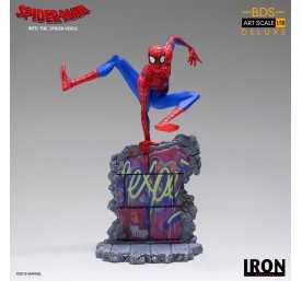 Figurine Marvel Spiderverse - BDS Art Scale Deluxe Peter Parker