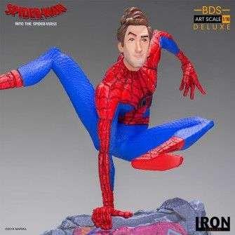 Figurine Marvel Spiderverse - BDS Art Scale Deluxe Peter Parker 9