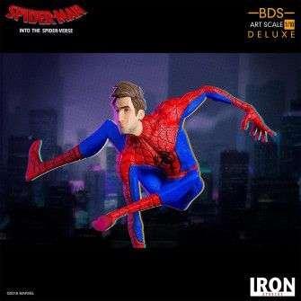 Figurine Marvel Spiderverse - BDS Art Scale Deluxe Peter Parker 11