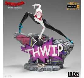 Marvel Spiderverse - BDS Art Scale Deluxe Spider-Gwen figure
