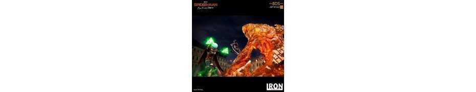Figurine Marvel Spider-Man: Far From Home - BDS Art Scale Deluxe Molten Man 15