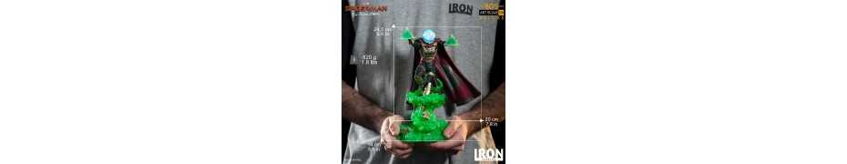 Figurine Marvel Spider-Man: Far From Home - BDS Art Scale Deluxe Mysterio 18