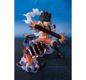One Piece Figuarts Zero Monkey D Luffy Gear 4 Snakeman King Cobra