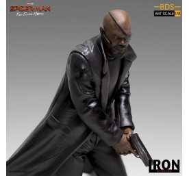 Figurine Marvel Spider-Man: Far From Home - BDS Art Scale Deluxe Nick Fury 5