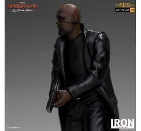 Figurine Marvel Spider-Man: Far From Home - BDS Art Scale Deluxe Nick Fury 7