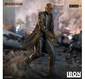 Figurine Marvel Spider-Man: Far From Home - BDS Art Scale Deluxe Nick Fury 11
