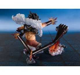 Figura One Piece - Figuarts ZERO Monkey D. Luffy Gear 4 Snakeman King Cobra 6
