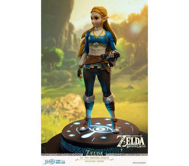 The Legend of Zelda Breath of the Wild - Zelda Collector's Edition figure