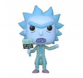 Rick & Morty - Hologram Rick Clone POP! figure