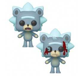 Figura Rick & Morty - Teddy Rick con Chase POP!