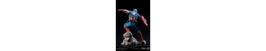 Marvel Universe - ARTFX Premier Captain America figure 9