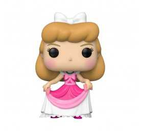 Figurine Disney Cendrillon - Cendrillon (Robe rose) POP!