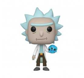 Figurine Funko Rick & Morty - Rick avec cristaux POP!