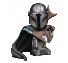 Busto Diamond Select Star Wars The Mandalorian - Legends in 3D The Mandalorian