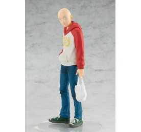 Figurine Good Smile Company One Punch Man - Pop Up Parade Saitama Oppai Hoodie Ver.