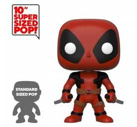 Marvel - Super Sized Two Sword Red Deadpool POP! Funko figure