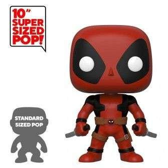 Figurine Funko Marvel - Super Sized Two Sword Red Deadpool POP!