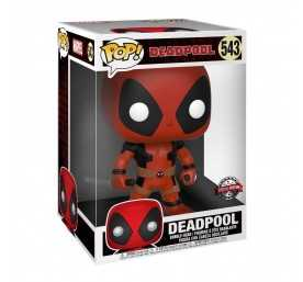 Marvel - Super Sized Two Sword Red Deadpool POP! Funko figure 2