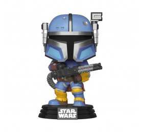 Star Wars: The Mandalorian - Heavy Infantry Mandaloria POP! Funko Figure