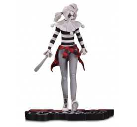 Figurine DC Collectibles DC Comics - Red, White & Black Harley Quinn by Steve Pugh
