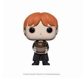 Figurine Funko Harry Potter - Ron vomissant des limaces/Ron Puking Slugs w/Bucket POP!