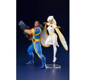Figurine Marvel Universe - ARTFX Bishop et Tornade (X-Men '92)