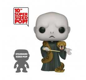 Figura Funko Harry Potter - Super Sized Voldemort con Nagini Special Edition POP!