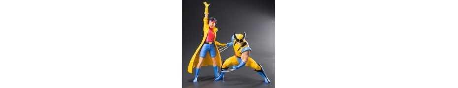 Figurine Marvel Universe - ARTFX Wolverine et Jubilee (X-Men '92) 13
