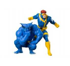Marvel Universe - ARTFX Cyclops & Beast (X-Men '92) figure