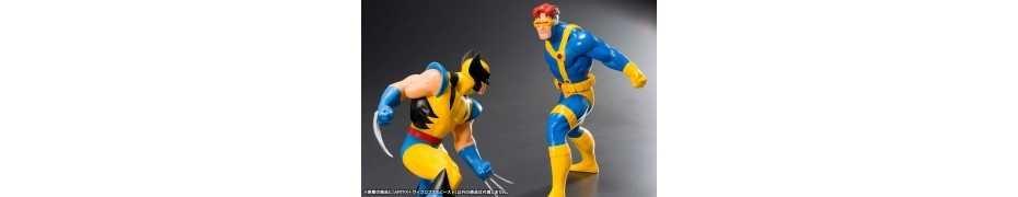 Figurine Marvel Universe - ARTFX Cyclops et le Fauve (X-Men '92) 4