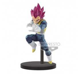 Figurine Banpresto Dragon Ball Super - Chosenshi Retsuden II Vol. 3 Super Saiyan God Vegeta