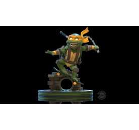 Figurine Quantum Mechanix Les Tortues Ninja (Teenage Mutant Ninja Turtles) - Q-Fig Michelangelo 2