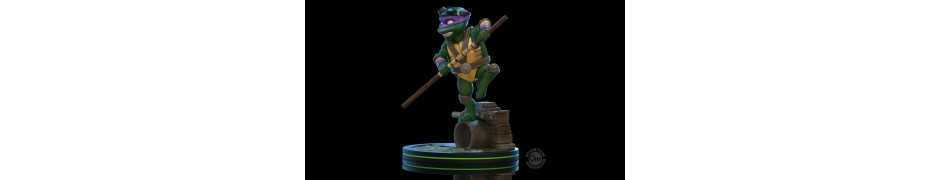 Figurine Quantum Mechanix Les Tortues Ninja (Teenage Mutant Ninja Turtles) - Q-Fig Donatello 6
