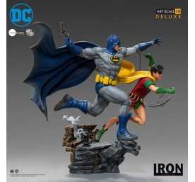 DC Comics - Deluxe Art Scale Batman & Robin by Ivan Reis Iron Studios figure 2