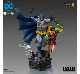 Figura Iron Studios DC Comics - Deluxe Art Scale Batman & Robin by Ivan Reis