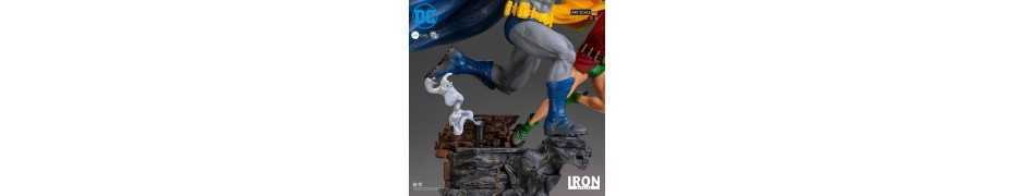 DC Comics - Deluxe Art Scale Batman & Robin by Ivan Reis Iron Studios figure 5