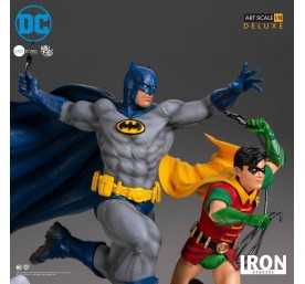 DC Comics - Deluxe Art Scale Batman & Robin by Ivan Reis Iron Studios figure 6