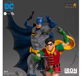 DC Comics - Deluxe Art Scale Batman & Robin by Ivan Reis Iron Studios figure 8