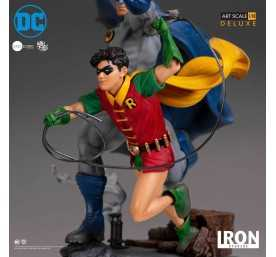 DC Comics - Deluxe Art Scale Batman & Robin by Ivan Reis Iron Studios figure 7