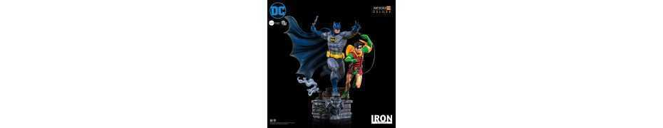 DC Comics - Deluxe Art Scale Batman & Robin by Ivan Reis Iron Studios figure 11
