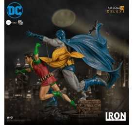 DC Comics - Deluxe Art Scale Batman & Robin by Ivan Reis Iron Studios figure 13